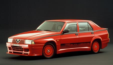 Alfa 75 Turbo Evolutione